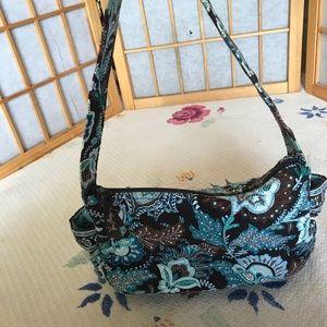Small quilted Vera Bradley shoulder bag